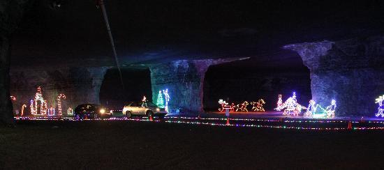Louisville Mega Cavern: Lights Under Louisville