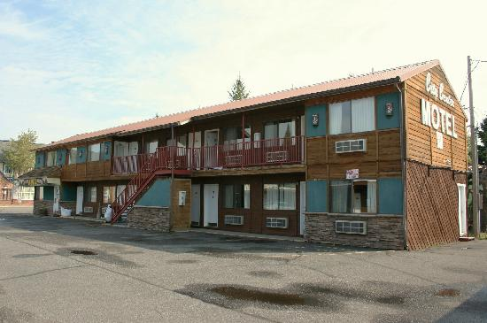 West Yellowstone's City Center Motel: One of two Exterior buildings