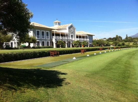 Finca Cortesin Hotel, Golf & Spa : driving range