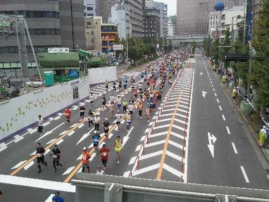 Fraser Residence Nankai Osaka : Osaka Marathon 2011