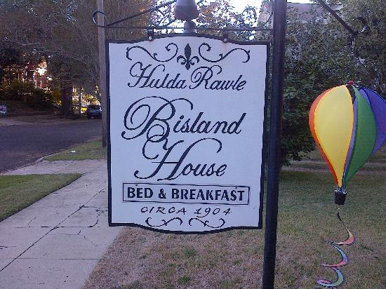 Bisland House Bed and Breakfast: Here we are!