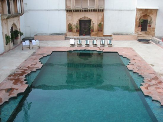 Bulandshahr, India: The pool