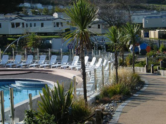 View from park chesil beach picture of littlesea - Hotels in weymouth with swimming pool ...
