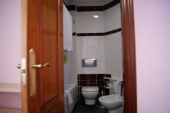 Hotel Villarreal : bagno