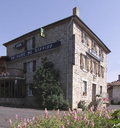 Hotel au Pont de Raffiny : façade