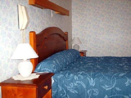 Hotel au Pont de Raffiny : chambre gentiane