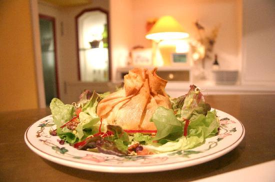 Hotel au Pont de Raffiny : aumoniere de fromage