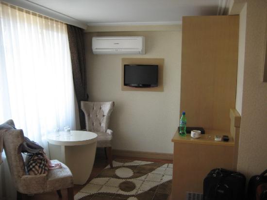 Q Hotel Istanbul: tv