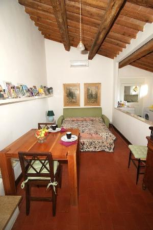 Villa Verita : apartment Villa Verità livingroom