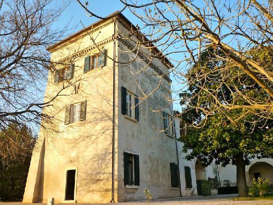 Villa Verita : Villa Verità the tower Colombara