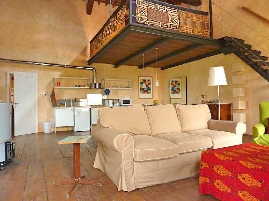 Villa Verita : studio La Colombara: livingroom