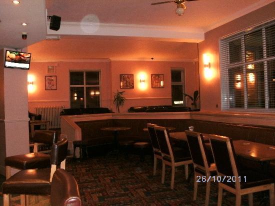 The Holly Bush Inn: The comfortable  lounge bar