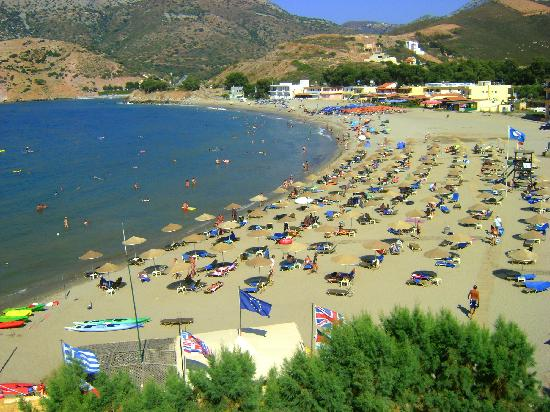 Fodhele, Greece: beach