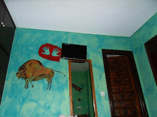 Hotel Conde Duque : pared