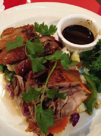 Cha-Am Thai: Thai Boneless Duck over Veggies