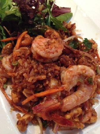 Cha-Am Thai : Thai Prawn Salad.