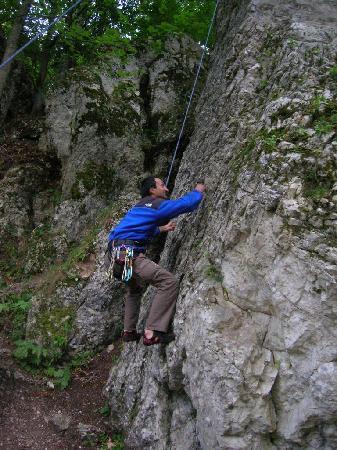 Vila Vitalis: Climbing in Bucegi Mts