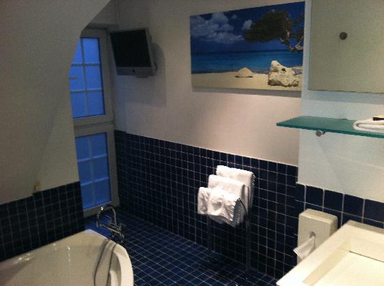Charl's: salle de bain blue océan