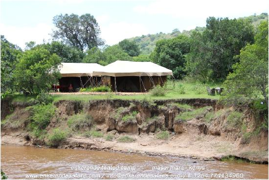 Enkerende Tented Camp : River Tents, Suite & Bush Tents