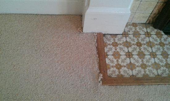 Victoria Apartments : Frayed carpet