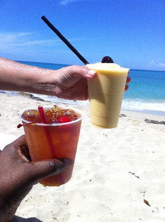 Sand Castle on the Beach: tropical taste