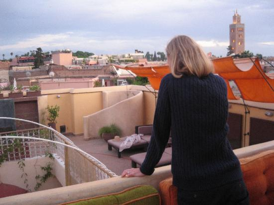 Maison MK: on the roof terrace
