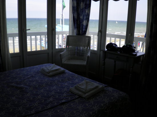 Langrune-sur-Mer, Frankreich: Room with a view