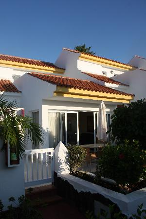 San Miguel de Abona, Spanien: Front of our apartment