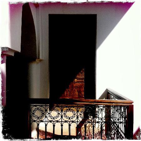 Dar Soukaina: A bedroom door