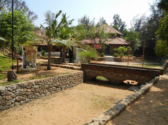 Muttukadu, Indien: Layout