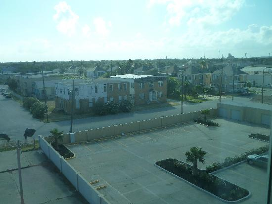 Four Points By Sheraton Galveston: view from room, west