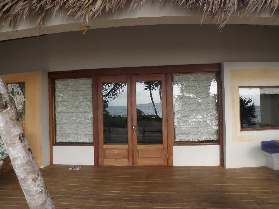 La Perla Del Caribe: the porch of our villa