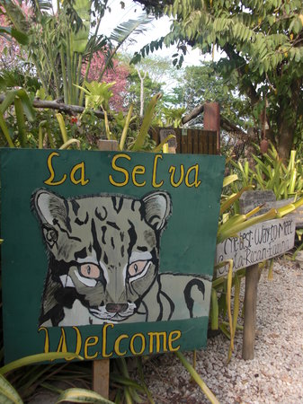 Playa Carrillo, Costa Rica: Gate to La Selva