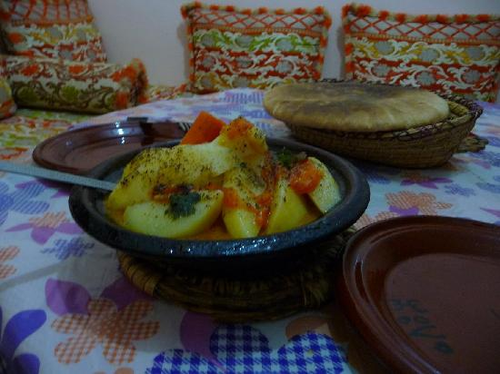 Guesthouse Dar Adous : Vegetarian tajine