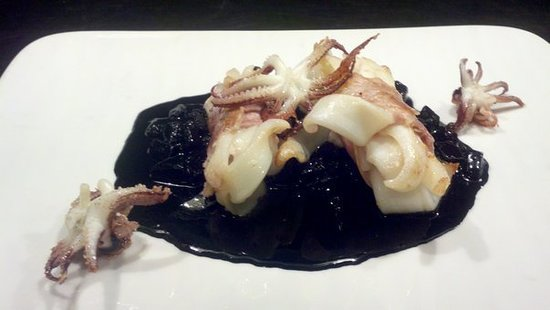 Cafe Shiraz: Black Calamari