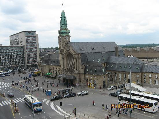 Luxembourg: train station