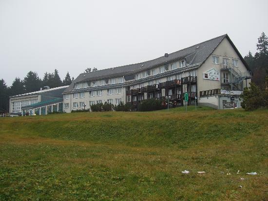 Sporthotel Oberhof: Ankunft im Hotel