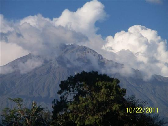 Korona House: The majestic Mt. Meru :-)