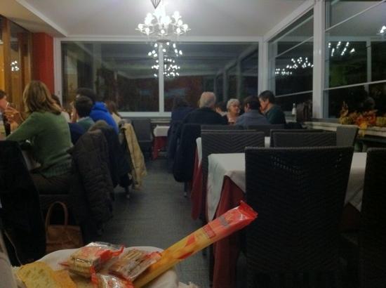 Al Mirapiave: la saletta panoramica