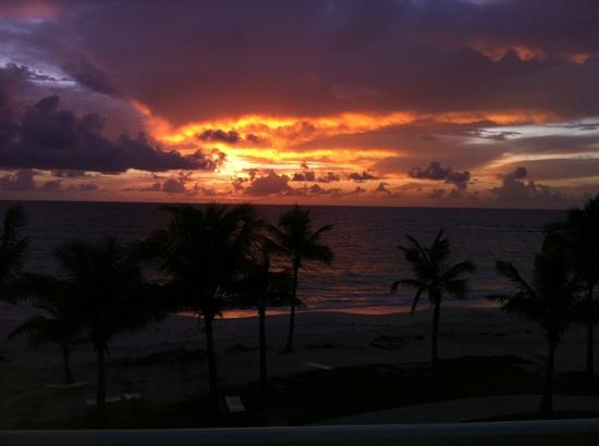 The Westin Dawn Beach Resort & Spa, St. Maarten : lever de soleil