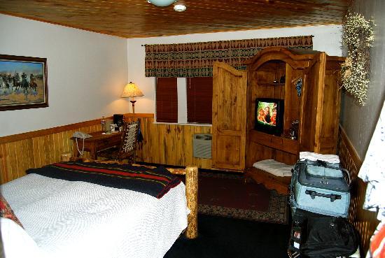 Saratoga Hot Springs Resort: My room