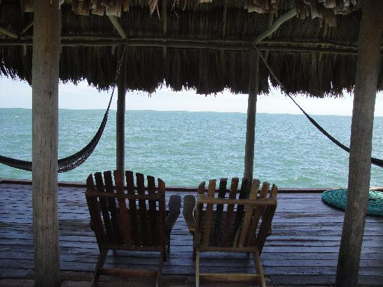 Hamanasi Adventure and Dive Resort: View from the dock