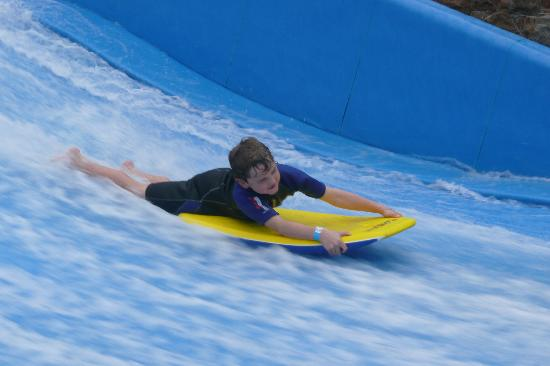 Merton Hotel: Flowrider at the Merton