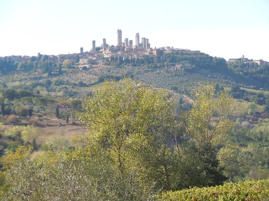 Pietrafitta Podere La Costa: view of San Gimignano