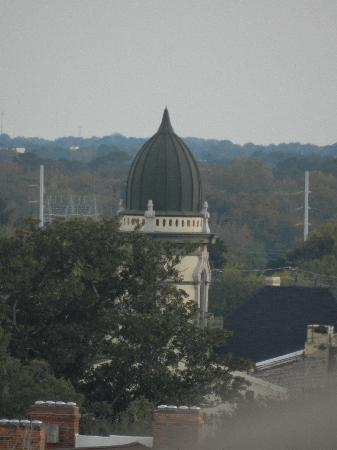 Holiday Inn Express Savannah-Historic District: view from roof pool area.