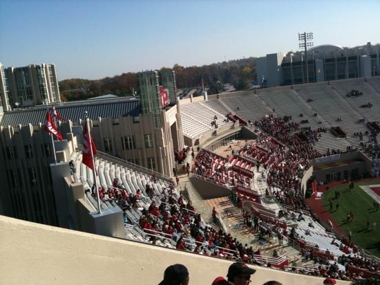 Bloomington, IN: new football