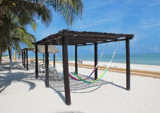 Telchac Puerto, Messico: Beach Hammocks