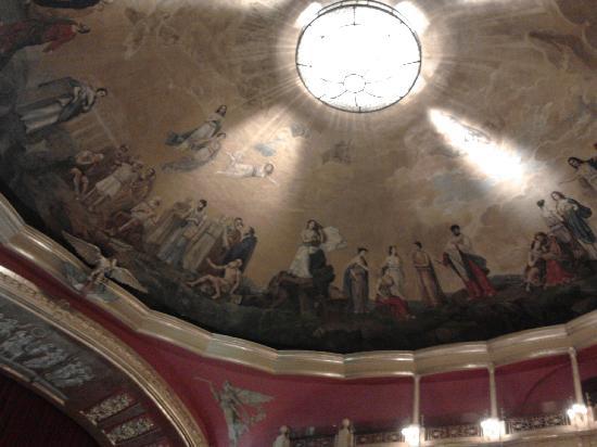 Teatro Degollado: bobeda
