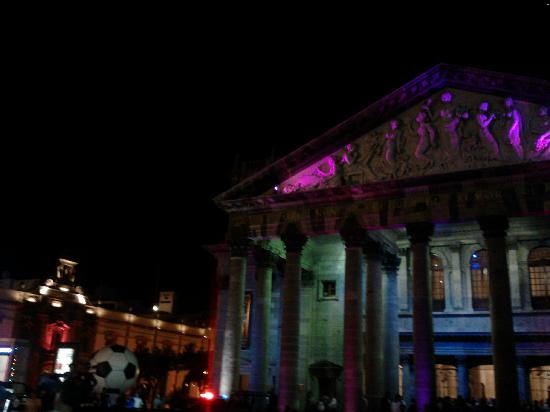 Teatro Degollado: frente