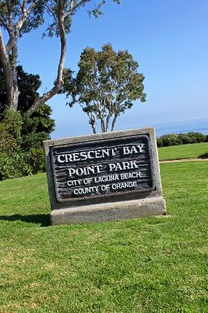 Crescent Bay Point Park: Entrance